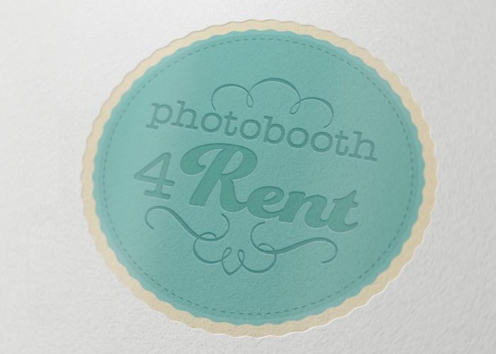 Photobooth 4 Rent Logo design