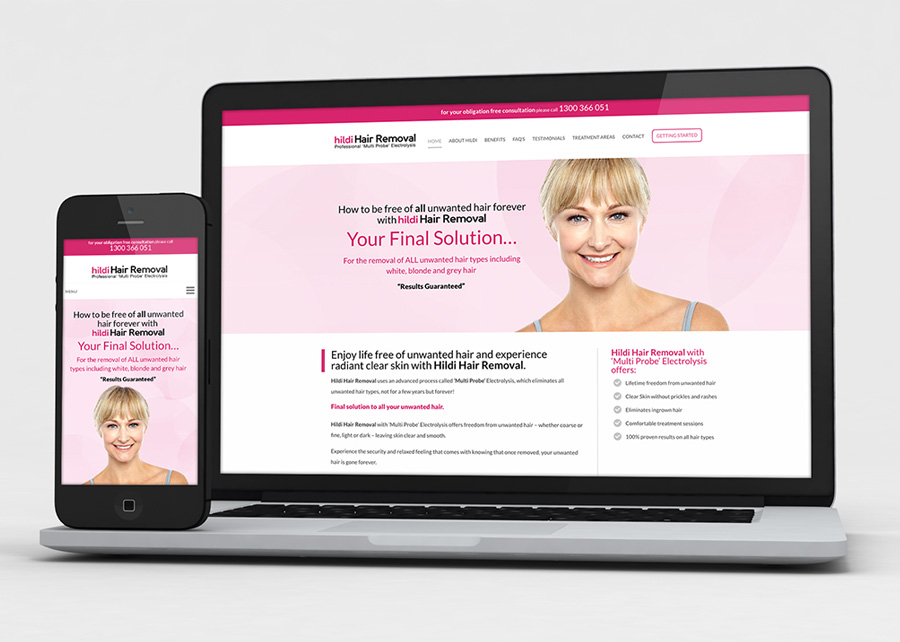 Melbourne Website Hair Removal